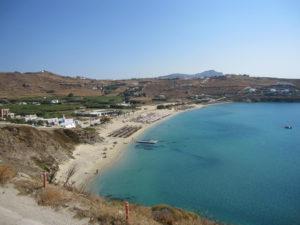Mykonos, Strand von Kalo Livadi