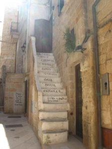 Treppe in Polignano