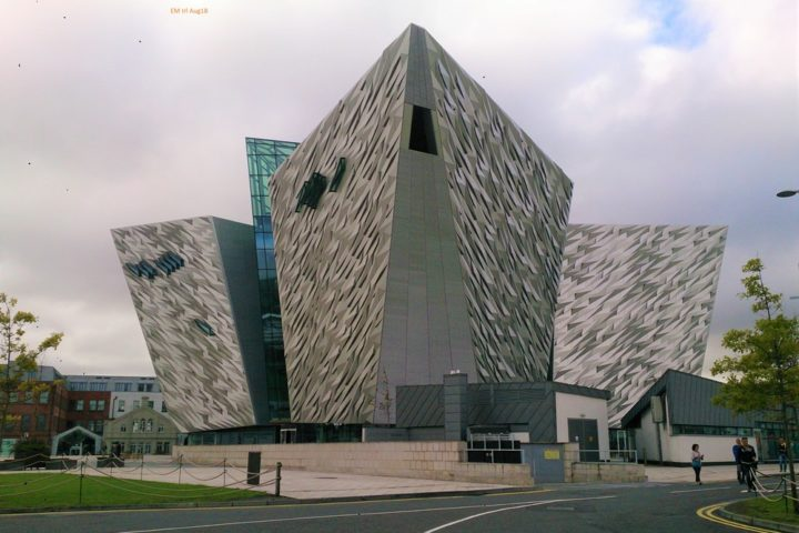 Irland Belfast Titanic Museum