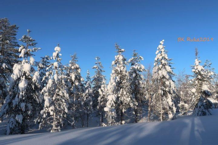 ruka winterlandschaft